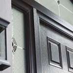 Composite door frame