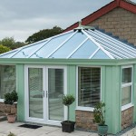 Installing replacement conservatory roofs