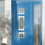 Composite entrance door