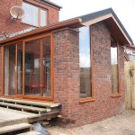 Pitched roof extension