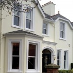 new sash windows on a property- double glazing in Belfast