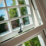 timber effect casement window