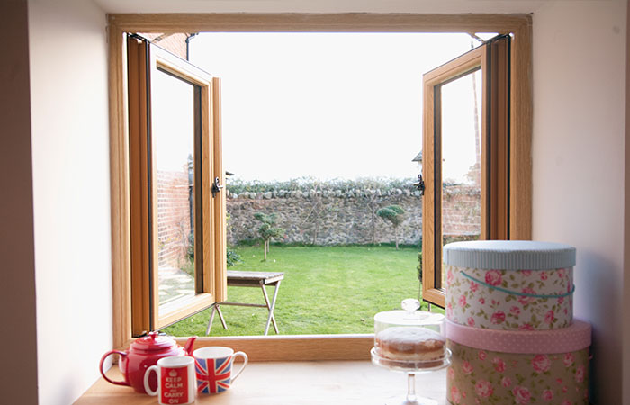 timber effect windows