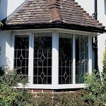 uPVC casement bay window