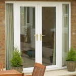 white french upvc doors