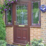Brown Entrance Door