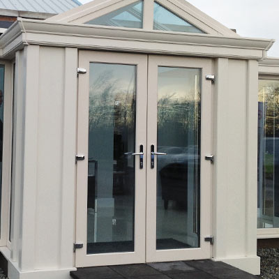 Cream French Doors