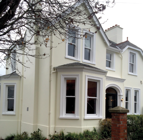 New Pvc Windows For A Victorian House In Belfast