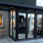 Portadown glazed extension showroom NI