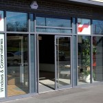 Turkington Windows showroom in Lisburn, Northern Ireland