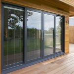 Kat aluminium sliding patio doors