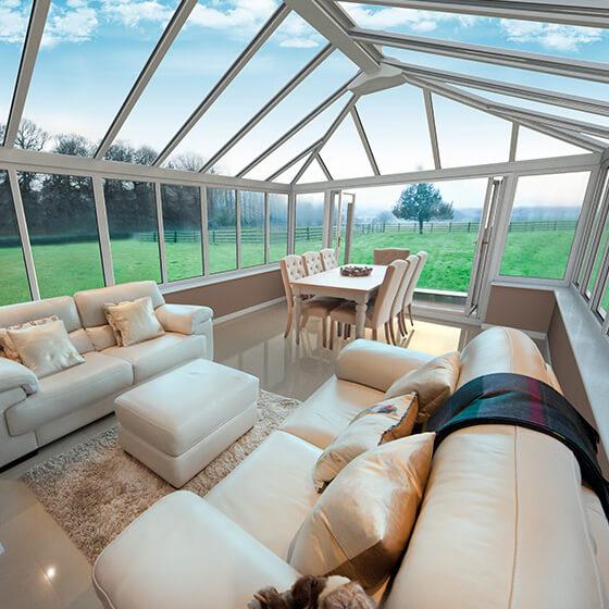 Conservatory interior view