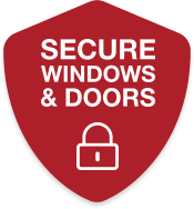 Secure windows and doors