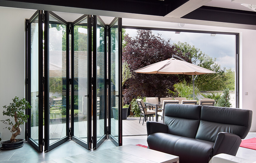 Aluminium Bifold Doors In Ni Amp Dublin Turkington Windows