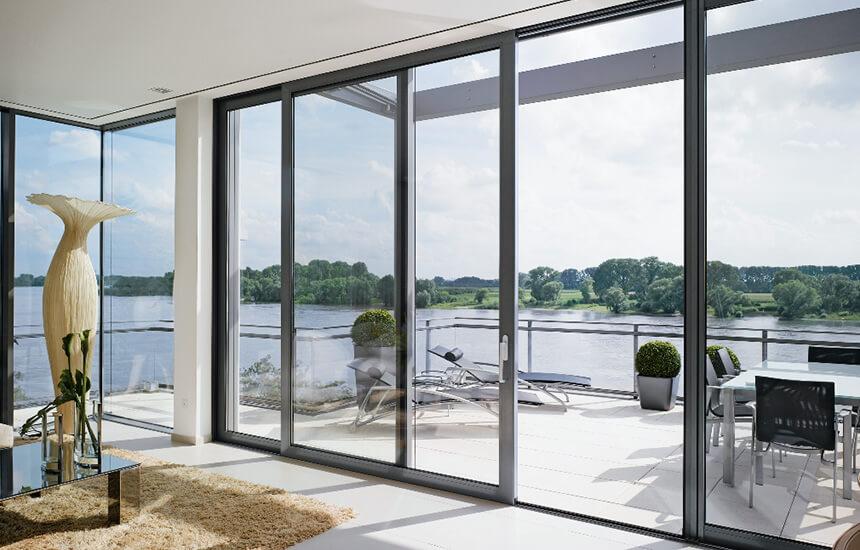 Black Aluminium Patio Door Turkington Windows