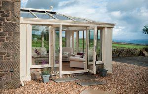 Cream uPVC Loggia conservatory