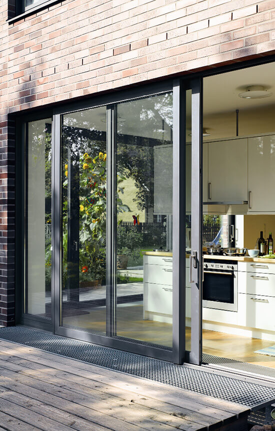 Aluminium Sliding Patio Doors Turkington Windows