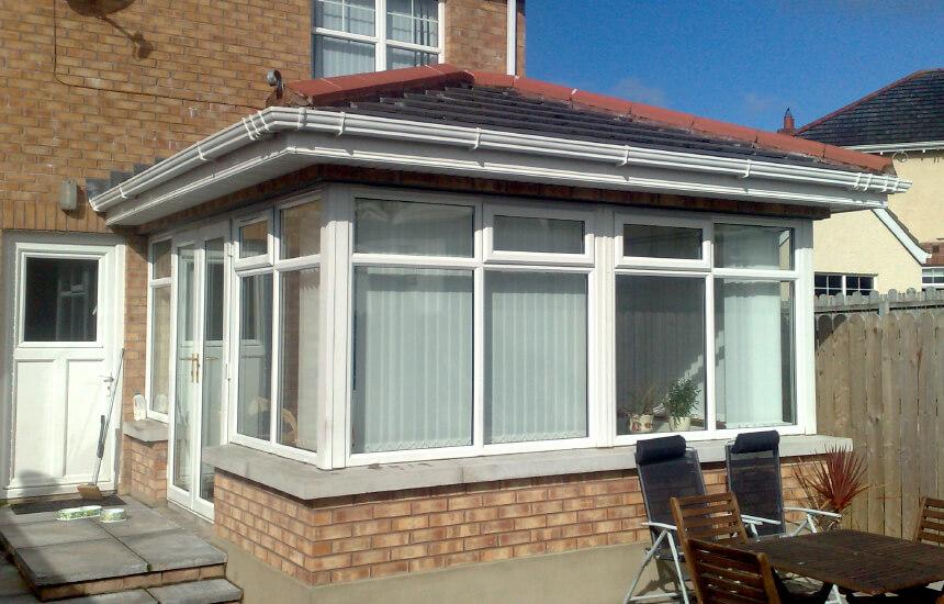 Large Upvc Sunroom Tiled Roof Turkington Windows