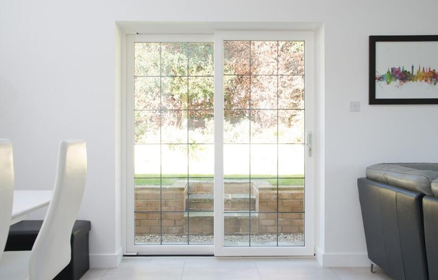 White Sliding Patio Door Turkington Windows