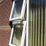 White upvc tilting windows