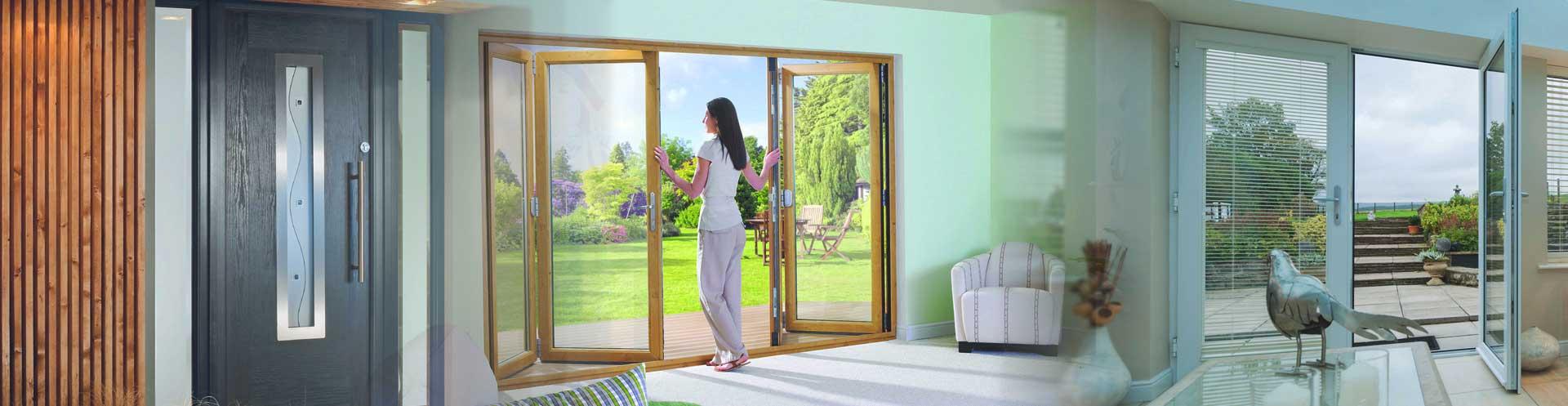 doors split image