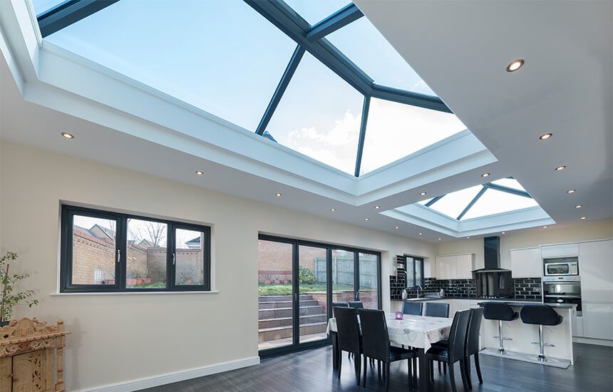 UltraSky Lantern Roof Interior