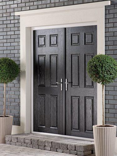 Black Entrance Doors