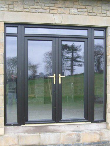 Black Patio Door