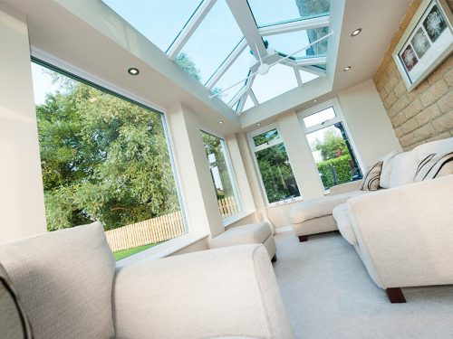 White Light Roof Conservatory