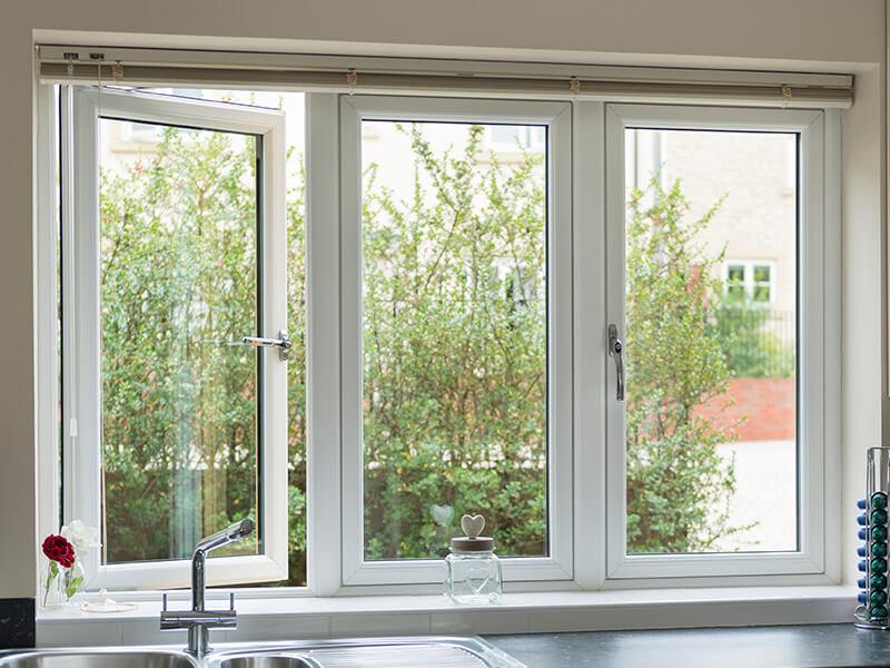 White Window Interior