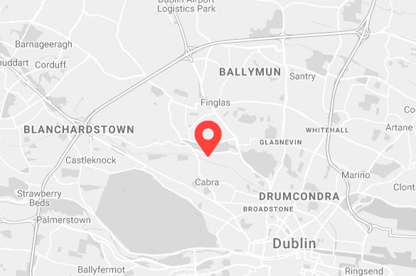 Dublin turkington map
