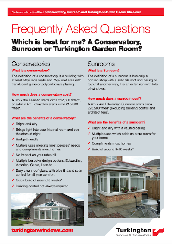 FAQ which extension will suit me brochure cover