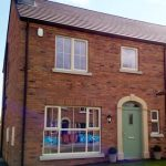 A home in Northern Ireland with uPVC double glazed windows.